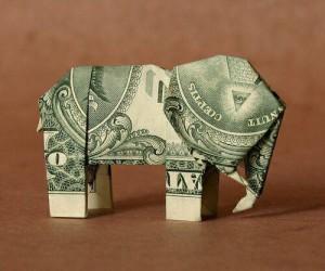 деньги слон